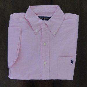 Ralph Lauren Short Sleeve Classic Fit Oxford Shirt
